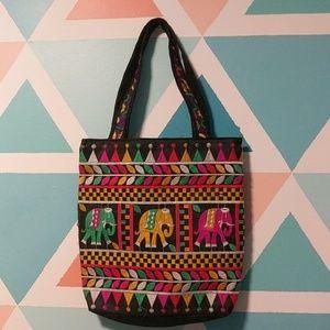 Handbags - Handmade Indian Elephant Tote
